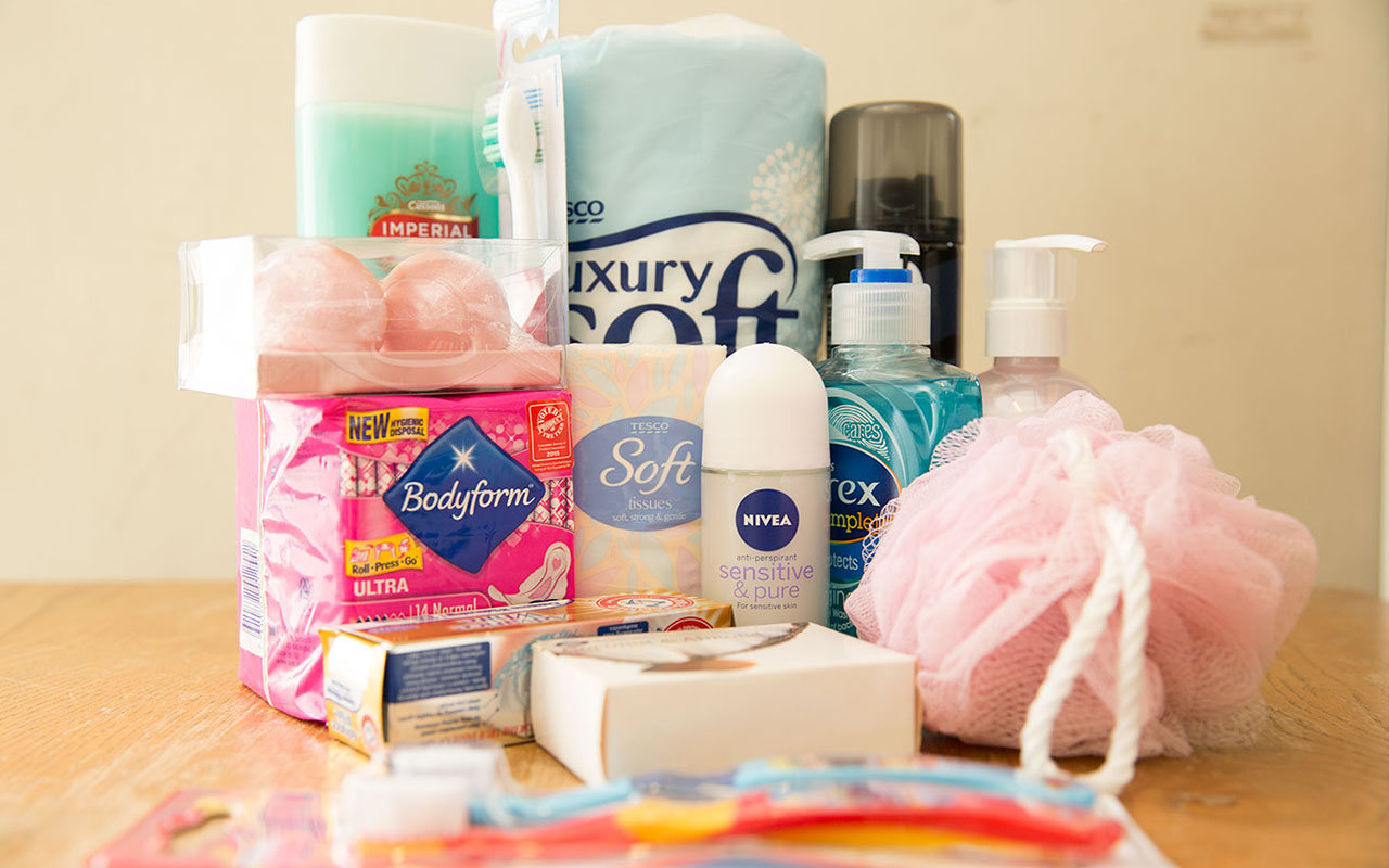 Girls Toiletries Drive