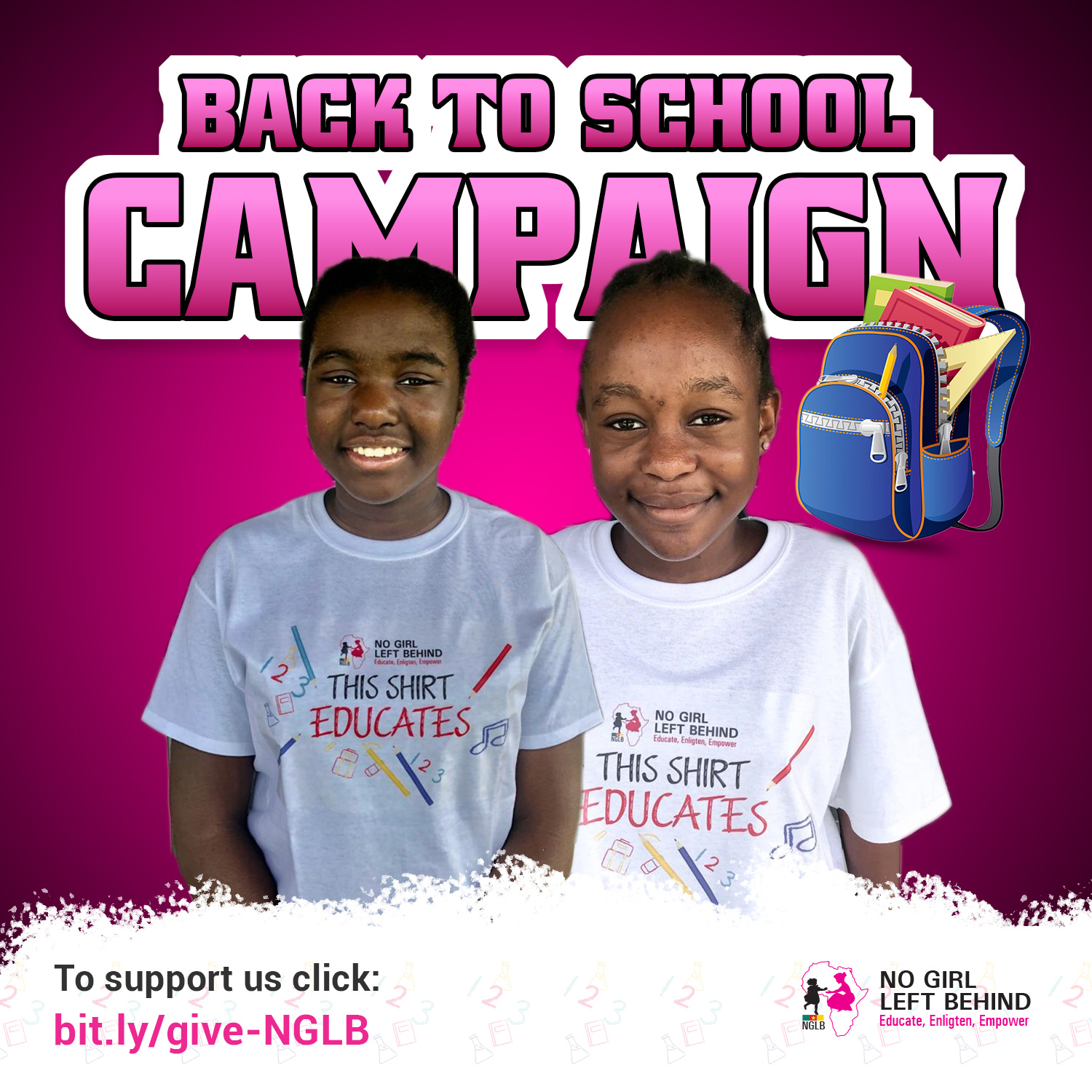 Back To School Fund Raising Campaign